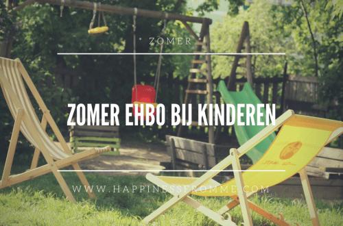 Zomer EHBO