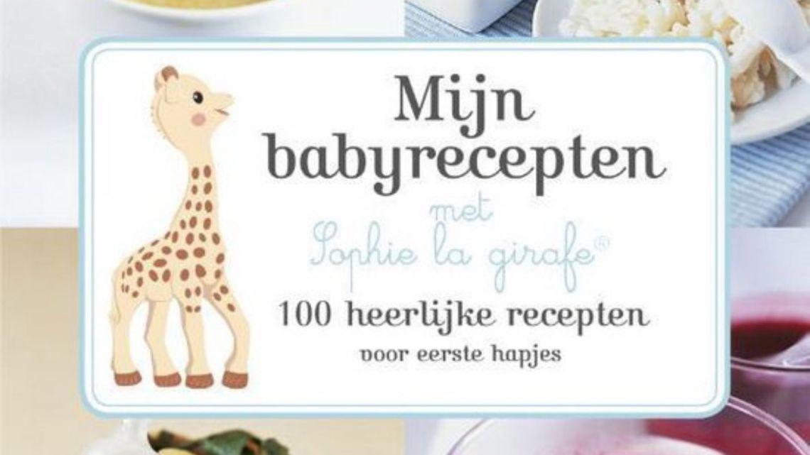 babyrecepten met Sophie de Giraf