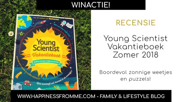 || Recensie || Young Scientist vakantieboek Zomer 2019 [+Win!] [Gesloten]