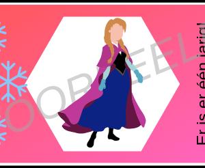 Bellenblaas wikkel Frozen - Voorbeeld