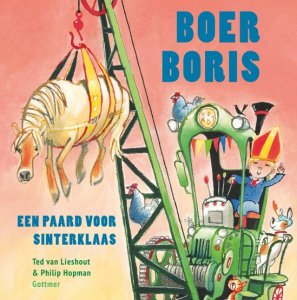Boer Boris een paard voor Sinterklaas