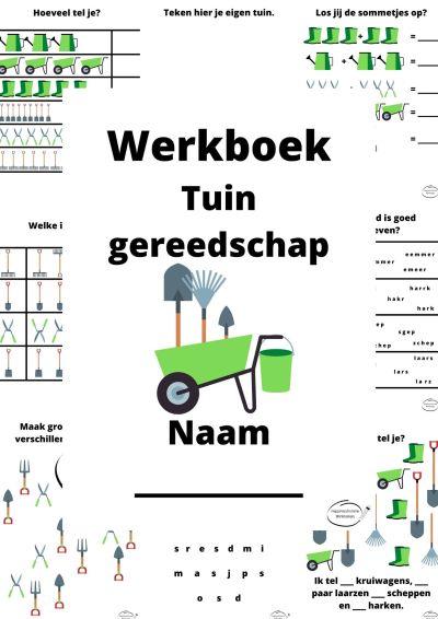 Werkboek Tuingereedschap