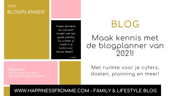Blogplanner 2021 !