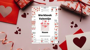 Valentijn werkboek voor kleuters