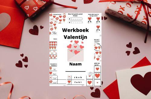 valentijn werkboek