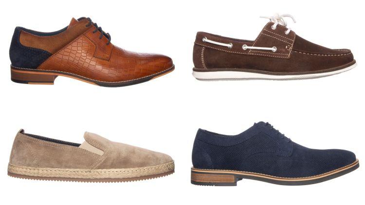 Zomerse schoenen van leer - Heren