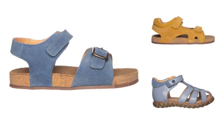 Zomerse schoenen van leer - Jongens