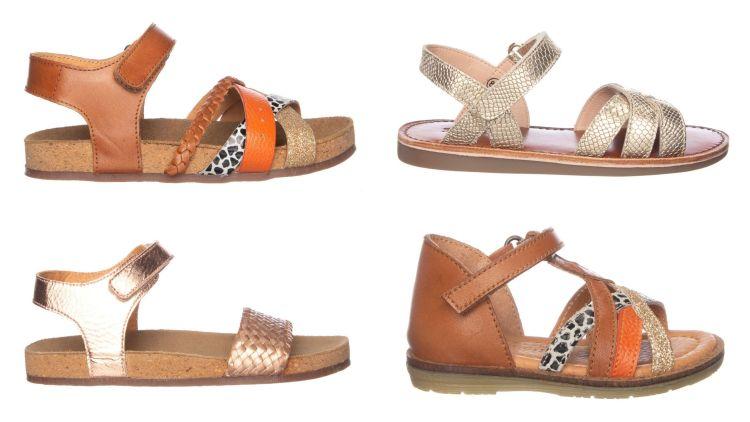 Zomerse schoenen van leer - Meisjes