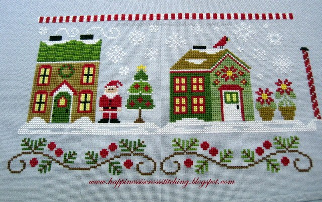 Country Cottage Needlework Santa