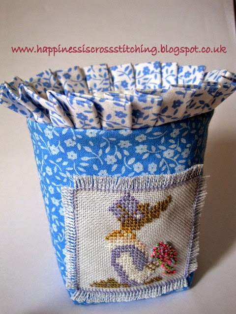 Cross Stitch bag By Lynn B