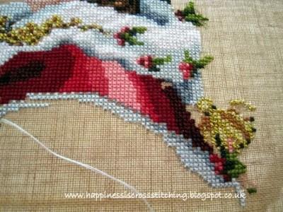 Mirabilia Royal Holiday Christmas Queen Cross Stitch Lynn B