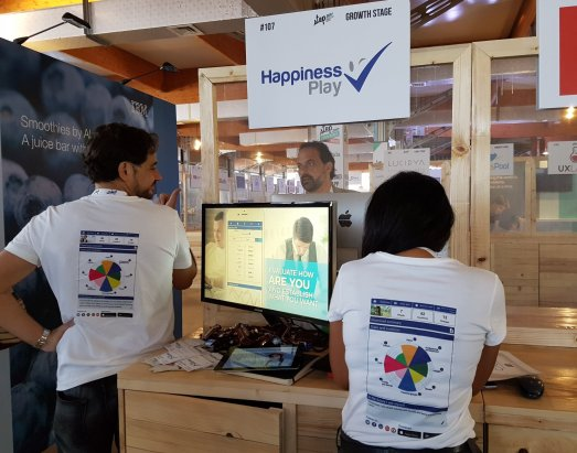 Happiness Play en Step 2017 Dubai