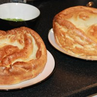 Winter Warmers - Giant Yorkshire Puddings with Giant Carrots