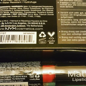 Look for the cruelty-free symbol on the back of the product