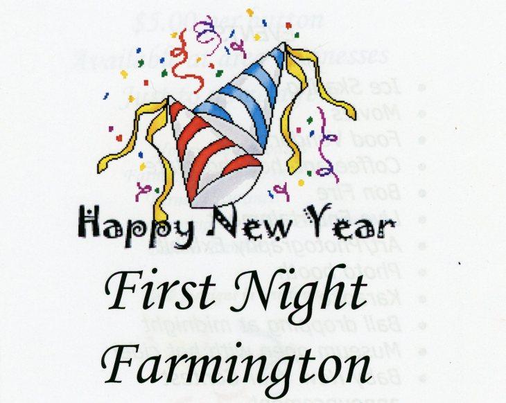 Farmington First Night Small Front