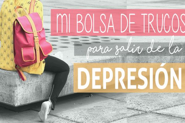 Mi plan para salir de la depresión