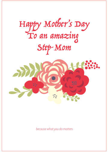 picture Happy Step Mothers Day Images a letter to the unappreciated step mom