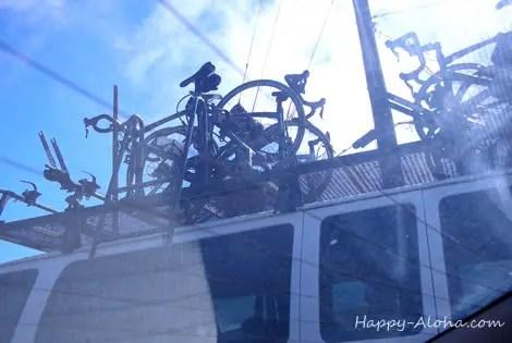 コナのトライアスロン用のバイク