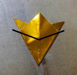 六芒星の切り方