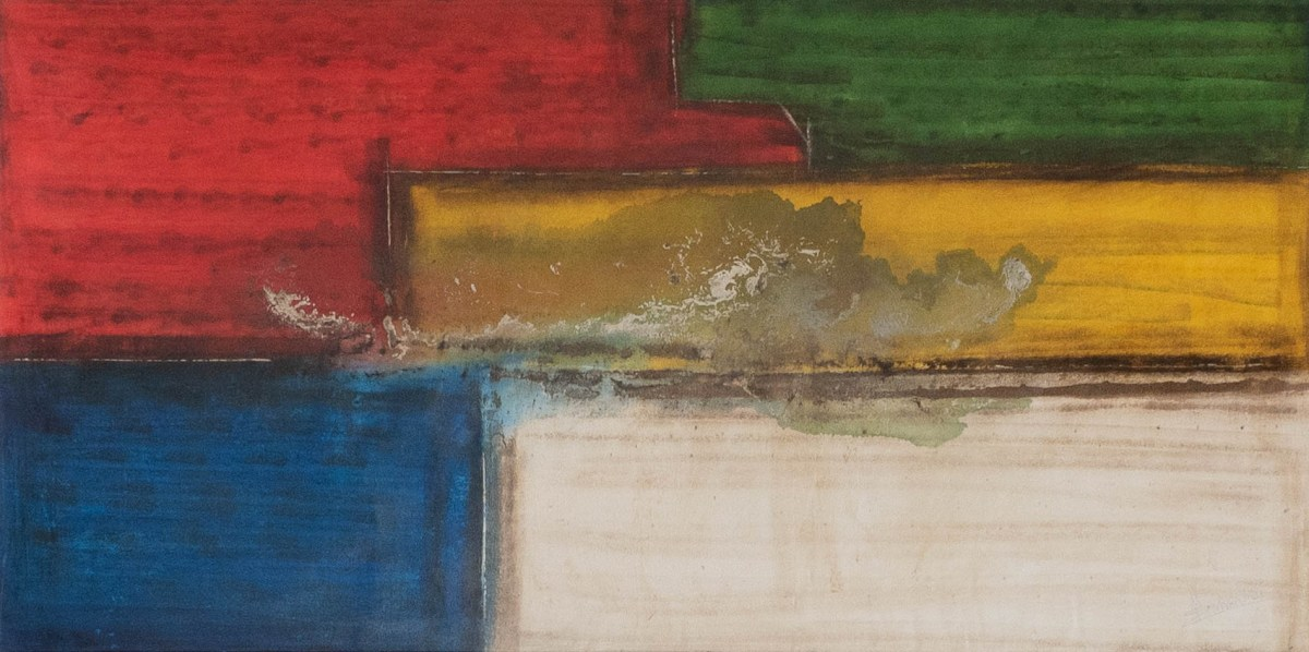 Acrylbild 'Colors From Brasil' – 180 x 90 cm