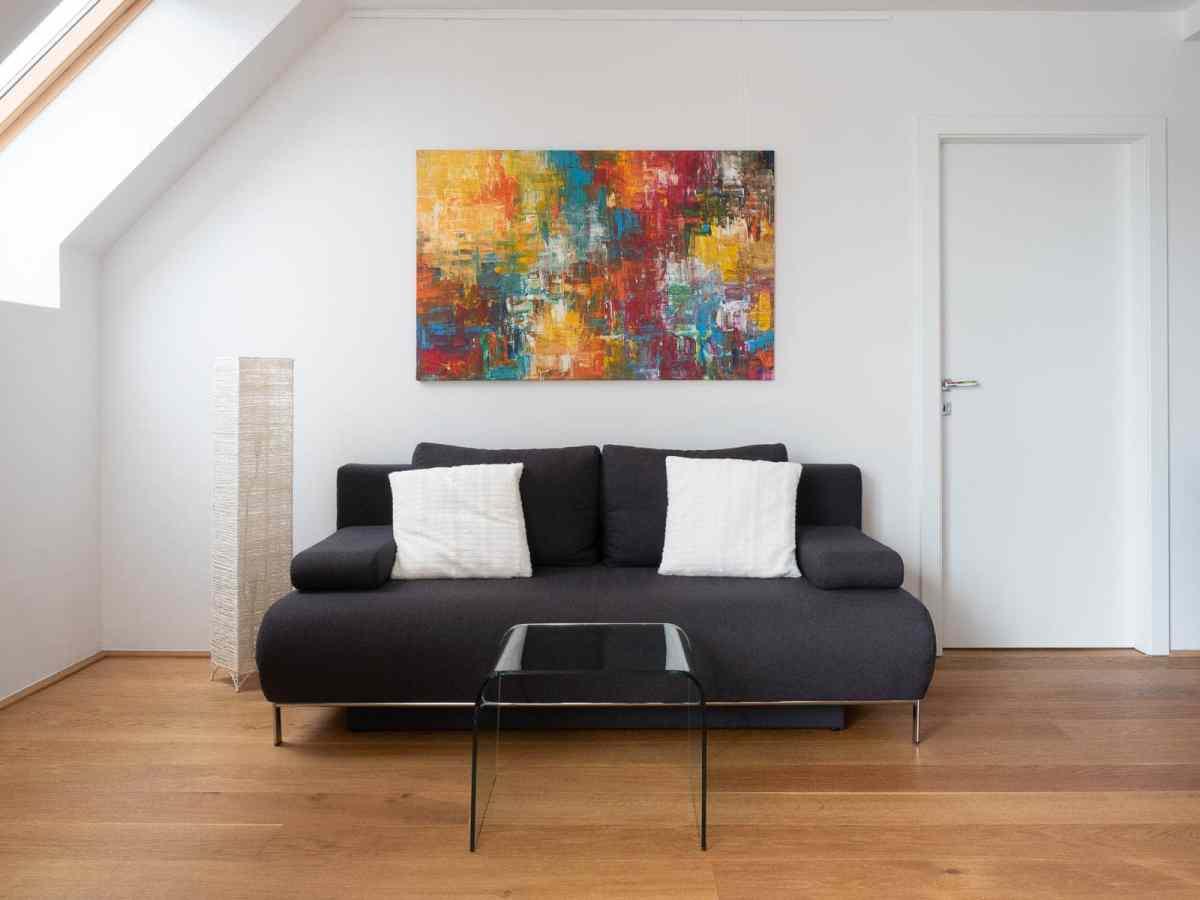 Acrylbild 'Favela' – 140 x 90 cm