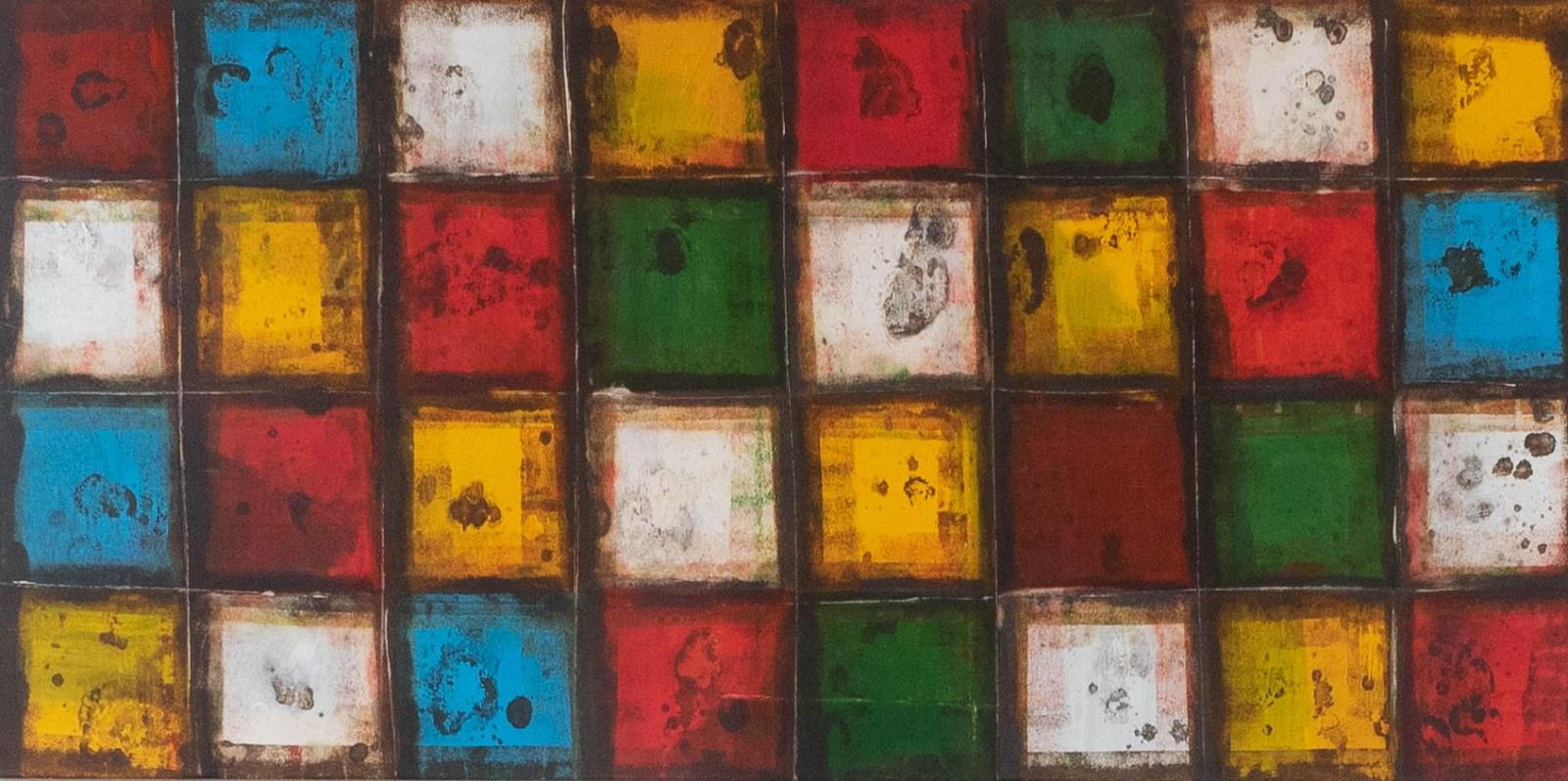 Acrylbild 'Light Windows' - 180 x 90 cm