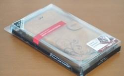 お気に入りのスマートフォンケース「SMART COVER NOTEBOOK」2個目はブラウン♪