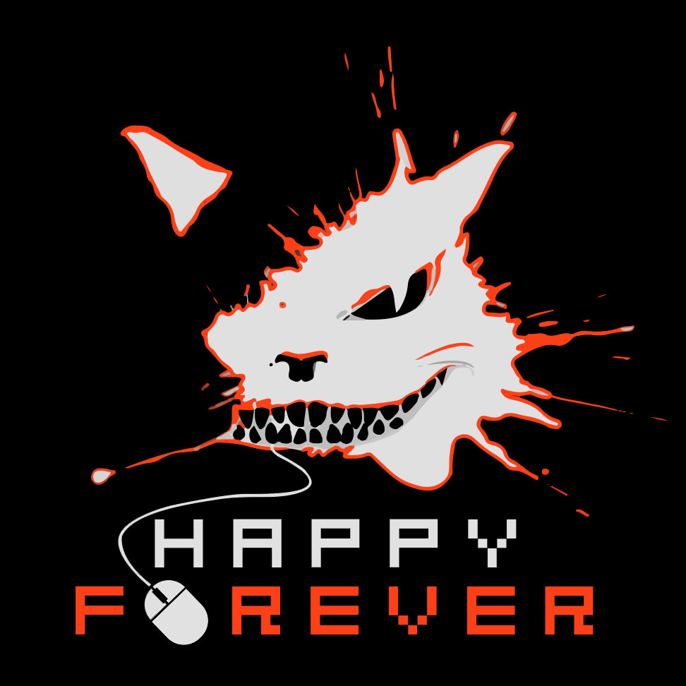 Happy_Forever_logos_black_orange_2