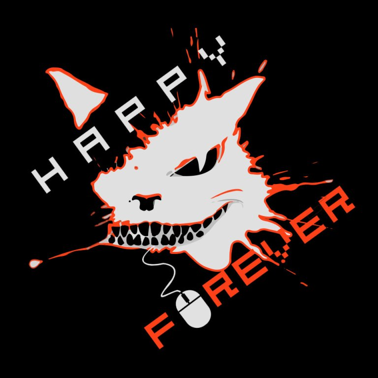 Happy_Forever_logos_black_orange_3