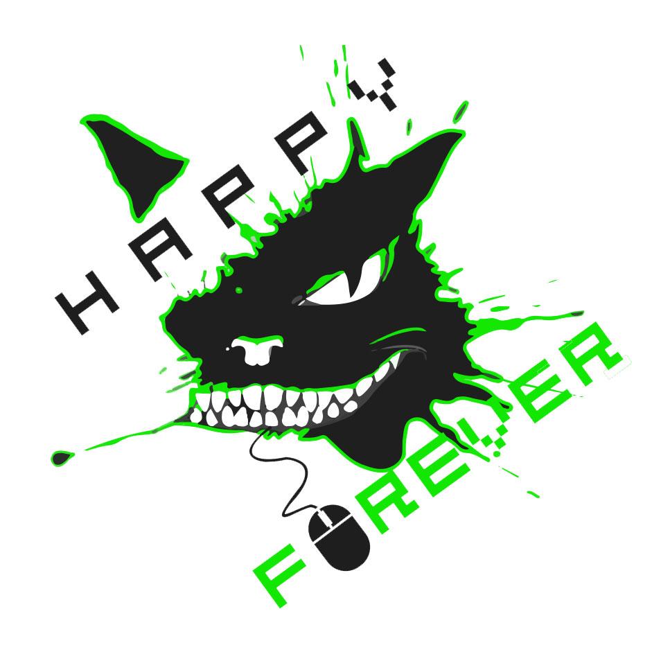 Happy_Forever_logos_white_green_3