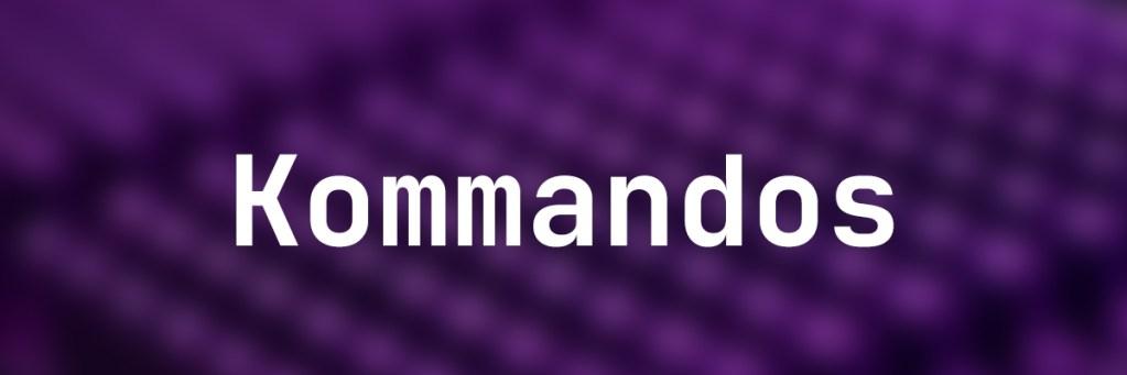 kommandos