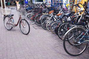 駐輪場トラブルに遭遇した自転車