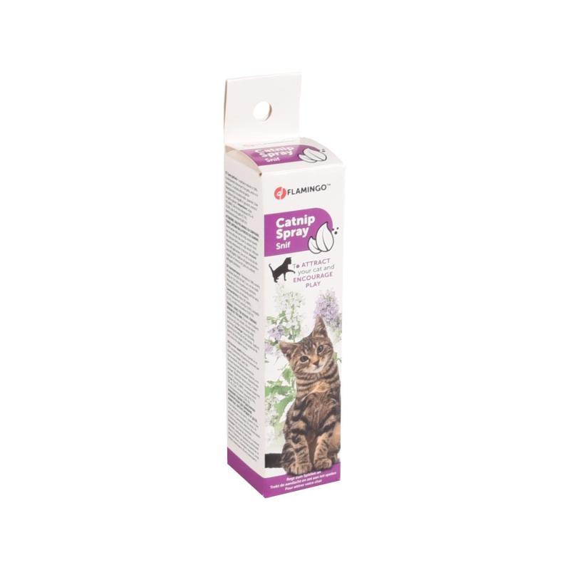 Catnip Spray Snif Flamingo atractant pentru pisici