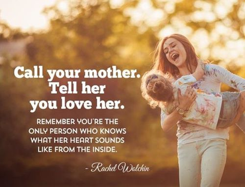 mothers day quotes by Rachel wolchin