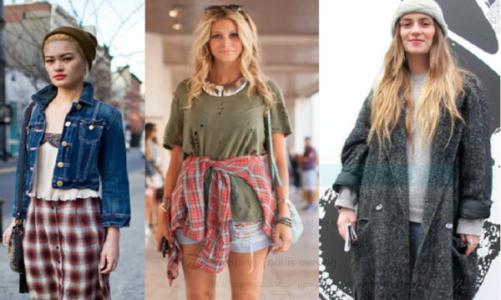 Как да се облечем според гръндж стила, за да бъдем модерни