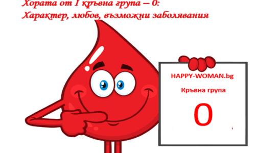 Хората от I кръвна група – 0