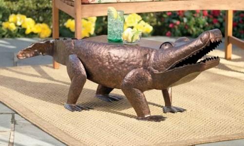 Градинска декорация: Градински маси в уникални форми на животни