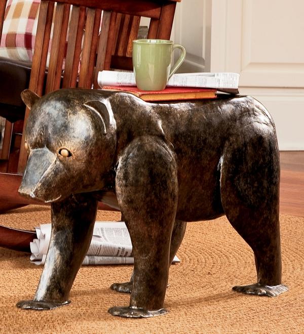 Градински-маси-в-уникални-форми-на-животни-мечка