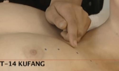 Вълшебната точка Ku-fan намалява на телесното тегло
