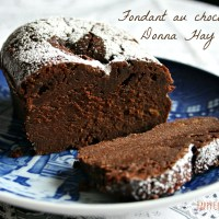 Gateau au chocolat fondant {Donna Hay}