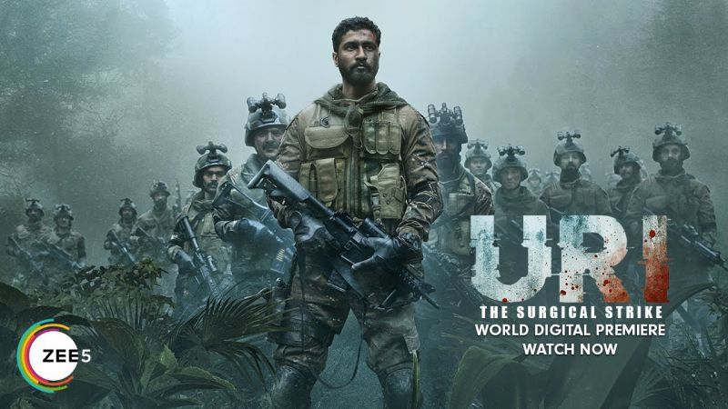 Download Uri: The Surgical Strike (2019) Hindi 1080p ZEE5-DL H264 AAC - 2 GB