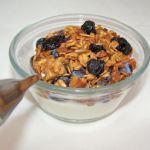 Blueberry Walnut Granola