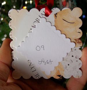 back of ornament