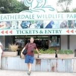 me outside Featherdale Wilfdlife Park