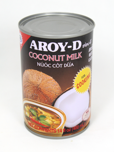 coconut milk - it's not just for cooking
