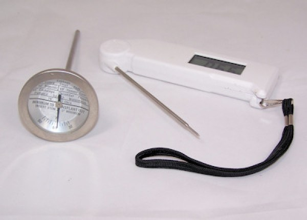 soil and instant read thermometers