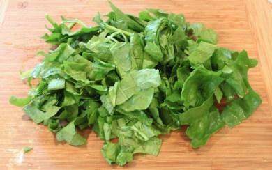 chopped fresh spinach