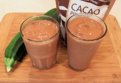 Chocolate Zucchini Smoothies