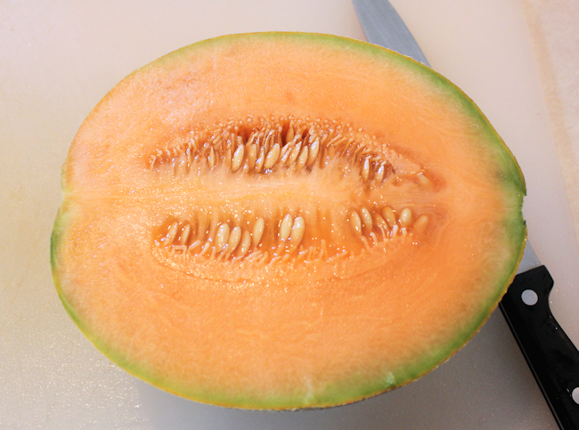 Burpee's Ambrosia cantaloupe