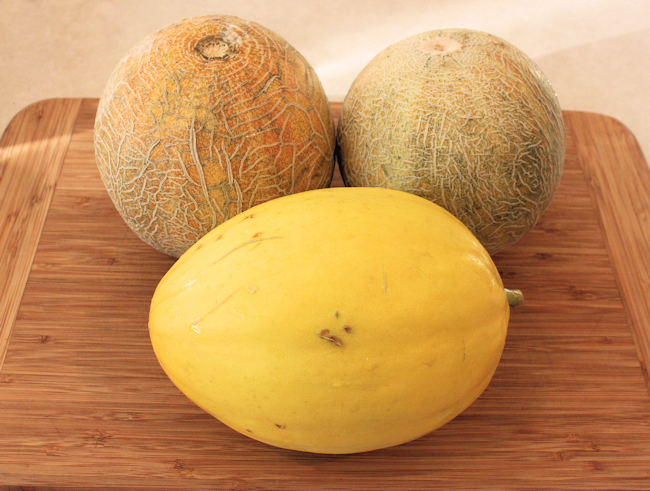 Ambrosia and Brilliant melons